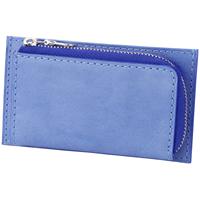 BAGGY PORT(バギーポート) 藍染めレザー シリーズ 小銭入れ付きミニ財布 ZYS-092
