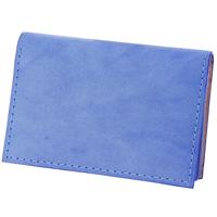 BAGGY PORT(バギーポート) 藍染めレザー シリーズ 名刺入れ カードケース ZYS-094