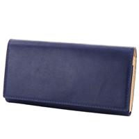 BAGGY PORT バギーポート 藍染めレザー 小銭入れ付き二つ折り長財布長財布 ZYS-095