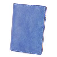 BAGGY PORT バギーポート 藍染めレザー 小銭入れ付き二つ折り財布 ZYS-096