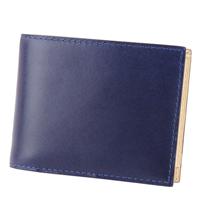 BAGGY PORT バギーポート 藍染めレザー 二つ折り財布 ZYS-098