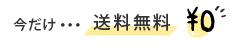 今だけ送料0円!