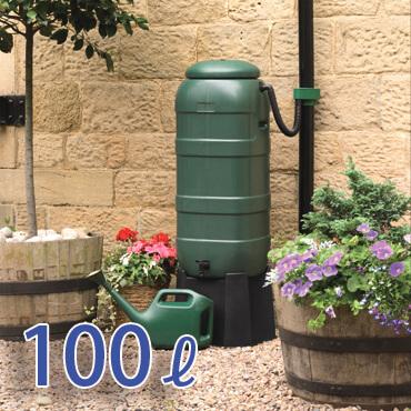 ハーコスター製雨水タンク「スペースセイバー100リットル」