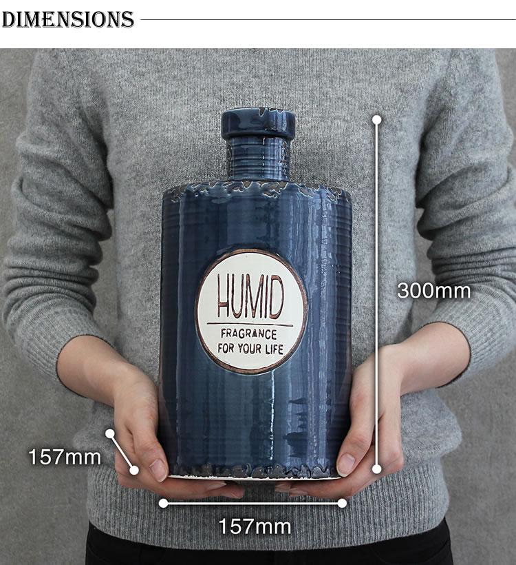 VINTAGE Collection 陶器 アロマ超音波式加湿器 M