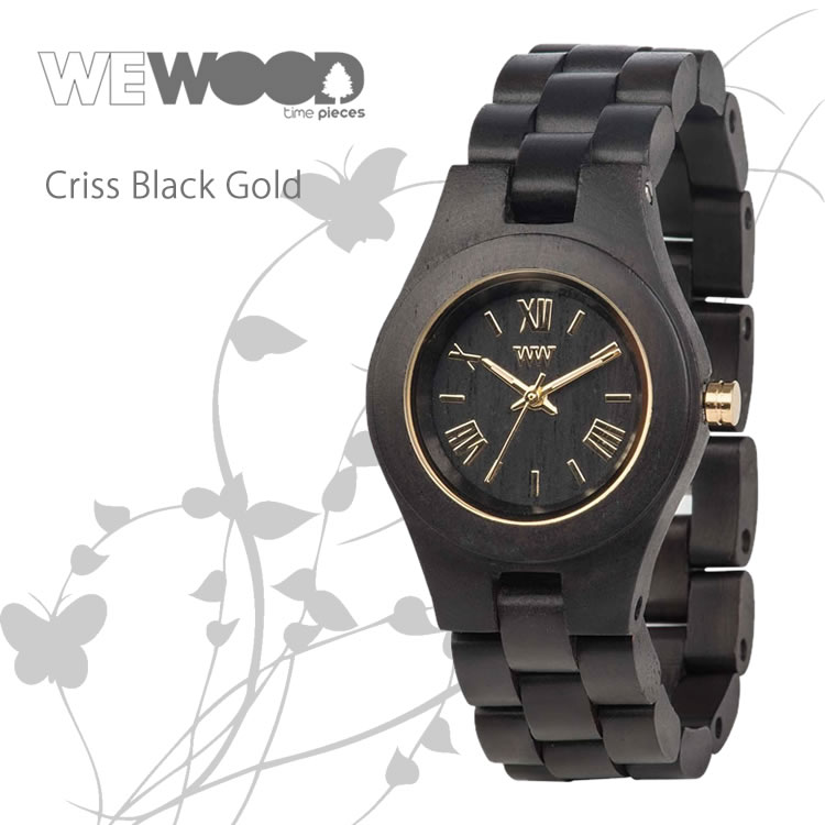WEWOOD 9818105 CRISS BLACK GOLD