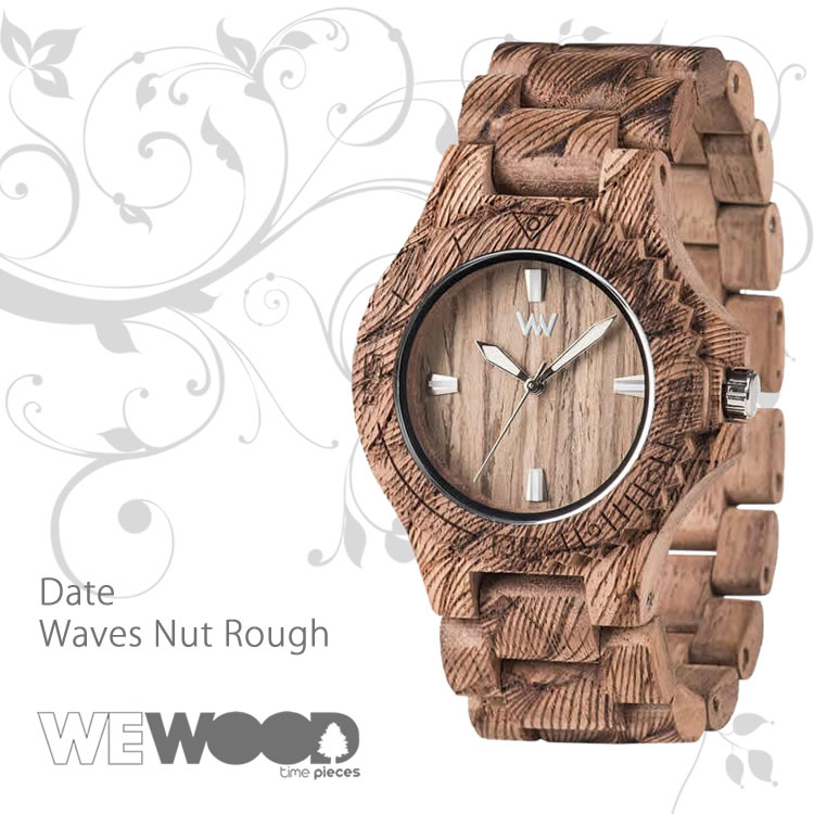 WEWOOD 9818118 DATE WAVES NUT ROUGH