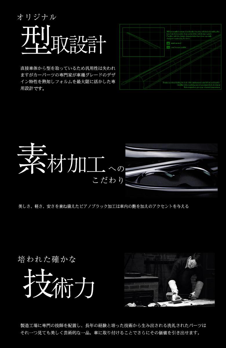 型取設計・マツダCX-5KF インテリアパネル1p