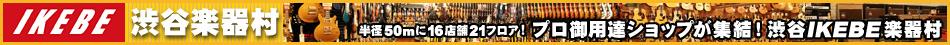 渋谷IKEBE楽器村トップページへ