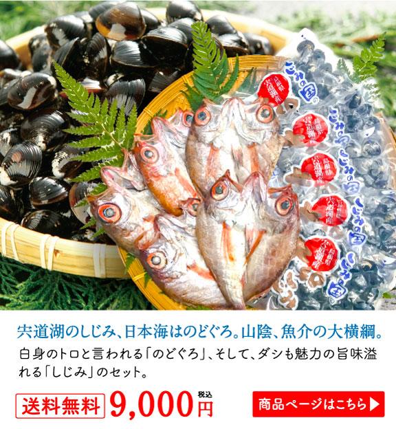 宍道湖のしじみ、日本海はのどぐろ。山陰、魚介の大横綱。