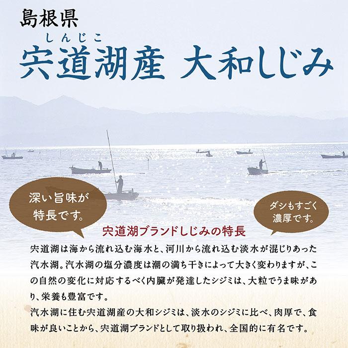 島根県宍道湖産大和しじみ
