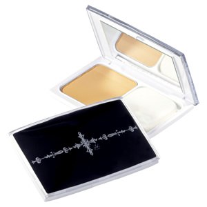 24h powder foundation men case set