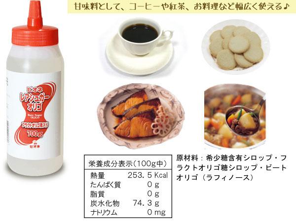 甘味料として、コーヒーや紅茶、お料理などに幅広く使えます♪