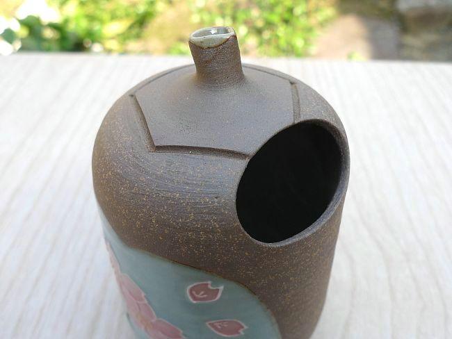 【京焼 清水焼】南蛮焼締 酒器