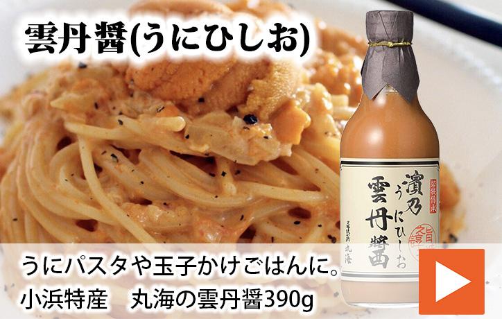 【送料無料】小浜特産 雲丹醤(うにひしお) 390g×2本セット | 生鮮食品直送便 楽天市場店