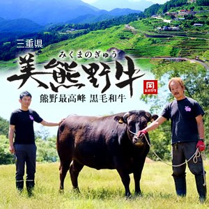 幻の黒毛和牛 美熊野牛