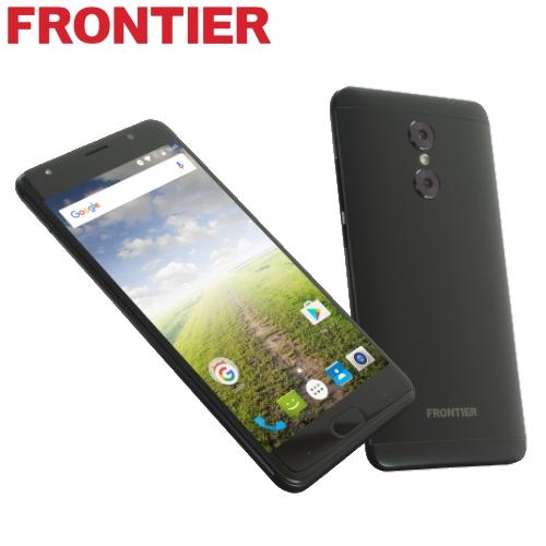 【新品】FRONTIER FR7101AK 黒 Android 7.0 ハイスペック SIMフリースマートフォン【FR】