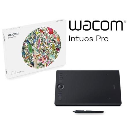 【送料無料】ワコム WACOM ペンタブレット ブラック PTH-660 K0 Intuos Pro ワイヤレス ペンタブレット Medium【FR】