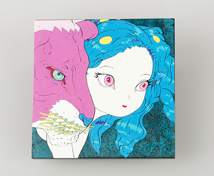 CANDY GIRL - フラワーベース(壁掛け用花入れ)2
