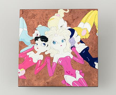 CANDY GIRL - フラワーベース(壁掛け用花入れ)3