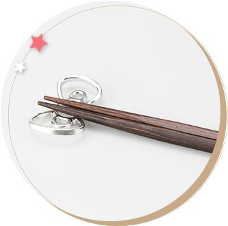 ハローキティ リボン箸置2ヶ入