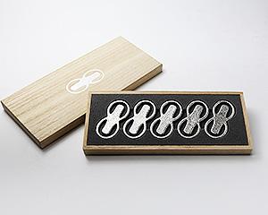 箸置 - 「8」 5ヶ入