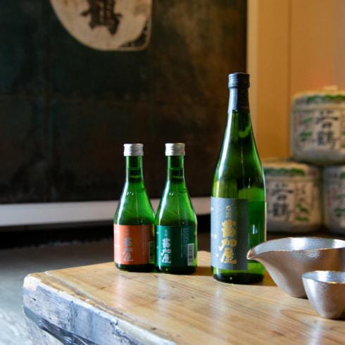 山・若鶴酒造の人気酒「苗加屋(のうかや)」× 錫の酒器セット