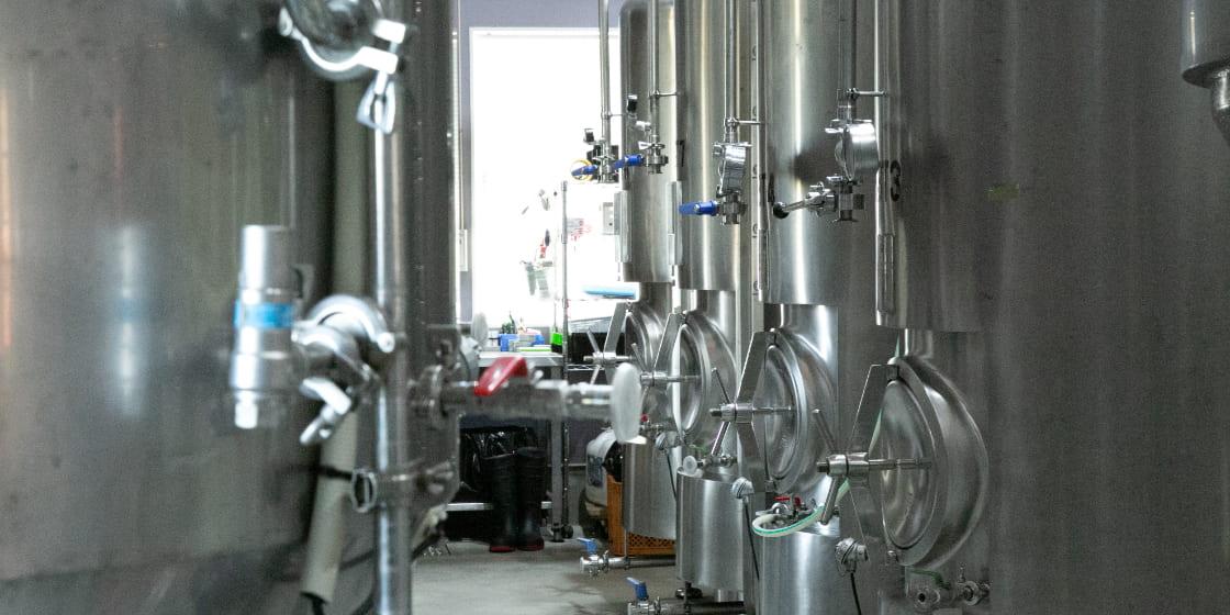 ビール工場の様子