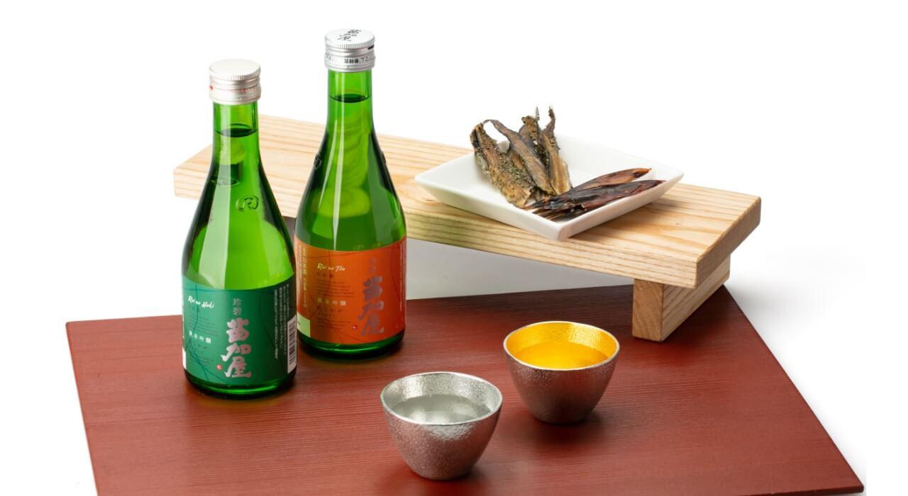 日本酒好きの方に 苗加屋×能作