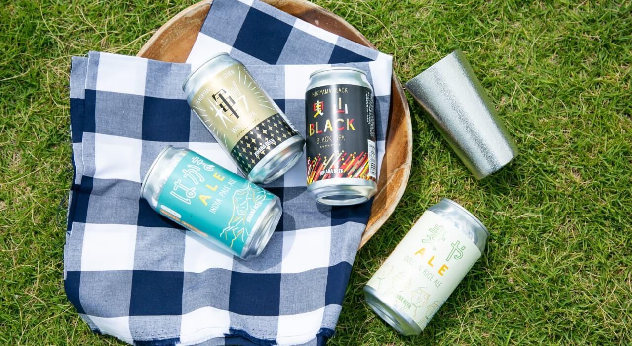 ビール好きの方に城端麦酒×能作