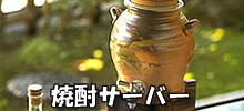 信楽焼き焼酎サーバー