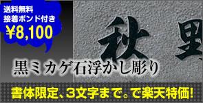 黒ミカゲ石浮かし彫りが楽天特価!