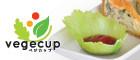 リアルな野菜のプラスチック野菜カップ