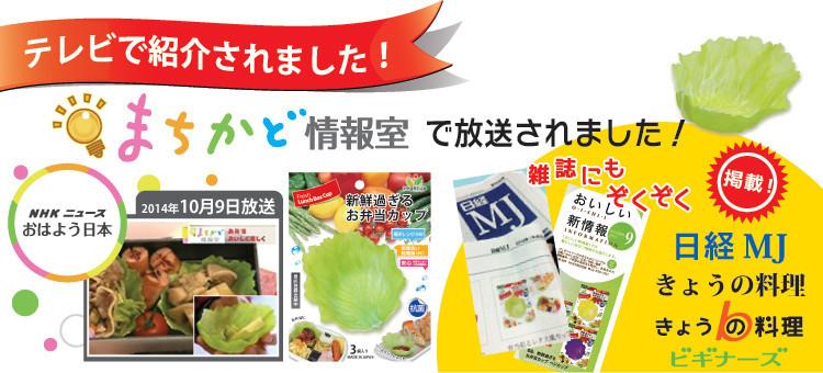 彩りゆたかなお弁当やソースにvegecupベジカップが日経mJに掲載されました