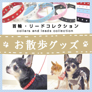 お散歩グッズ(首輪・リードコレクション)