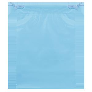 ビニールバッグ ブルー