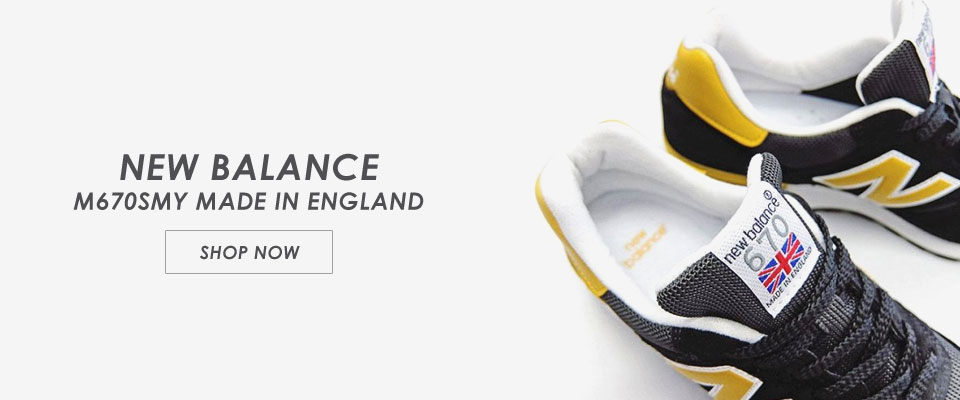 wholesale dealer ff4ab f544c NEW BALANCE M670SMK MADE IN ENGLAND