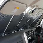 サンシェード 車 用 エマーソン EM−253 Mサイズ スジガ…入り