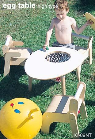 子供用家具/タマゴテーブル/KI-09NT/イメージ