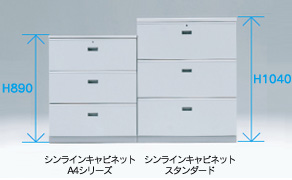 シンラインキャビネットシリーズ 特長7