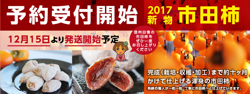 市田柿予約