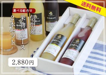 信州産果物ジュース2本セット