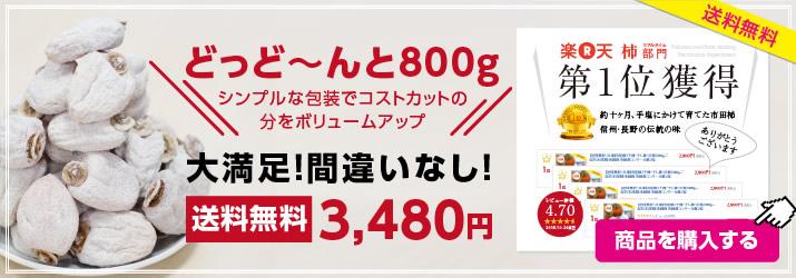 市田柿800g