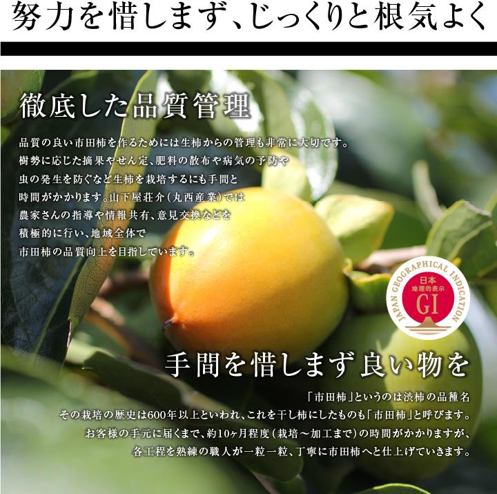 市田柿&市田柿ミルフィーユ