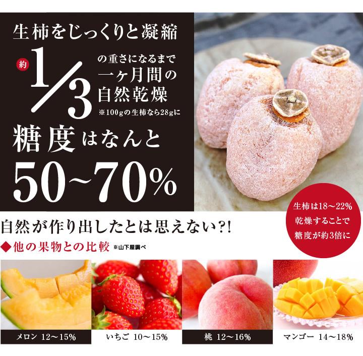 干し柿・市田柿の糖度はなんと50度以上