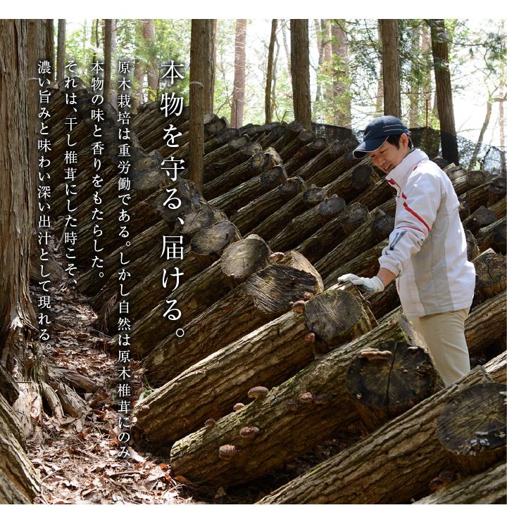 本物を守る、届ける。原木椎茸