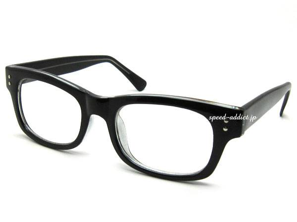 WELLINGTON BIKER SHADE BLACK × CLEAR