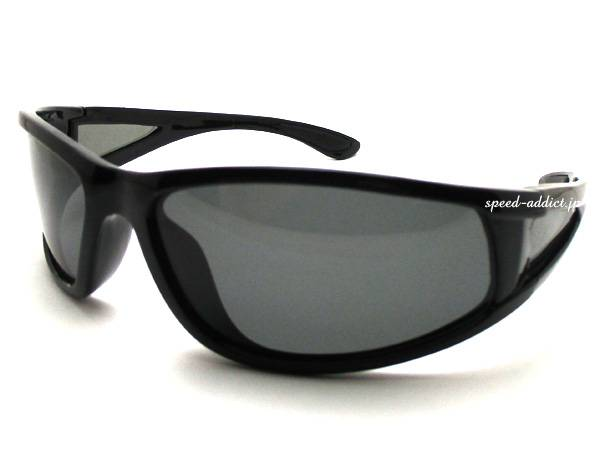 POLARIZED SPORT 4眼 SUNGLASS BLACK × SMOKE偏光