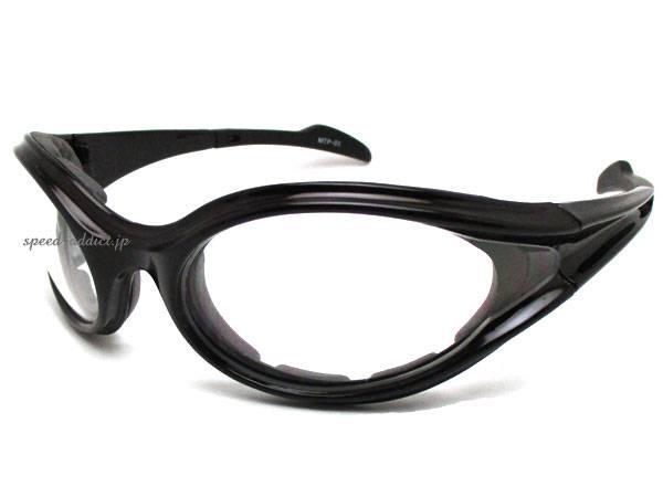 BIKER SHADE URETHAN PAD WIND GUARD BLACK ×   CLEAR