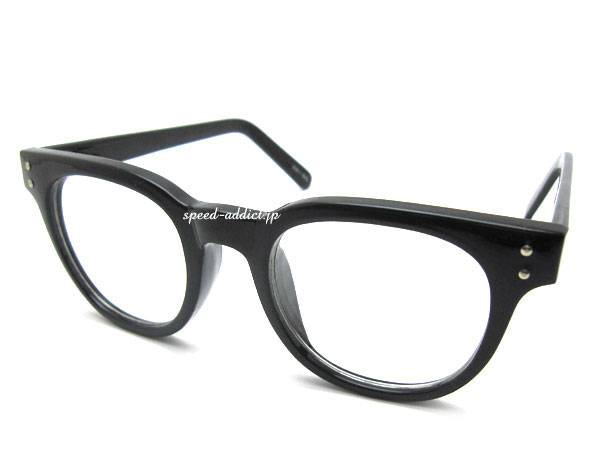 CLASSIC BOSTON SUNGLASS BLACK × CLEAR
