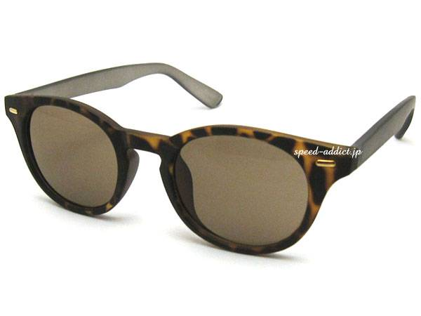 MAT OLD BOSTON SUNGLASS べっ甲/CLEAR   GRAY × LIGHT BROWN